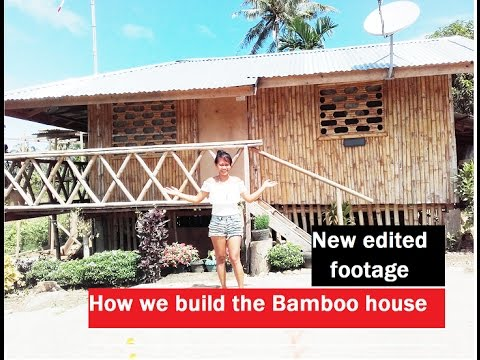 How easy is it to build a bamboo house ,diy project in the Philippines with windmill generator