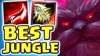 THE BEST JUNGLER EVER CREATED | NEW ORNN JUNGLE SPOTLIGHT | NEW ITEMS FULL AD ORNN JUNGLE Nightblue3