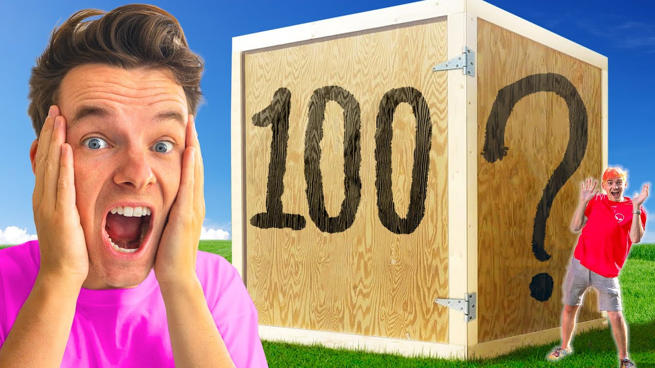 Unbreakable 100 LAYER MYSTERY BOX Challenge! ($100,000)