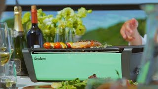 Enders Table Charcoal Grill Brand Video