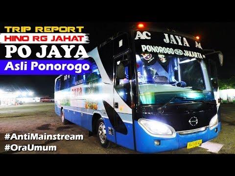TRIP REPORT BUS JAYA, ASLI PONOROGO - HINO RG JAHAT AUTO SOOSSS