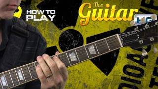 Guitar Lessons Tom Morello Lesson Audioslave Cochise Guitar Lesson