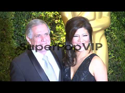 Les Moonves, Julie Chen at Academy Of Motion Picture Arts...