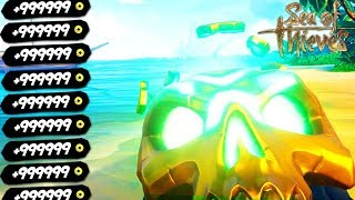 НАШЛИ ЗОЛОТОЙ ЧЕРЕП В SEA OF THIEVES КОТОРЫЙ СТОИТ ОООЧЕНЬ МНОГО!!! - SEA OF THIEVES