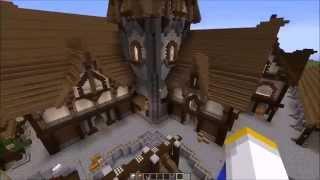 fantasy medieval minecraft tour