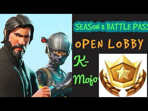 Season 3 Open lobby Fortnite Battle Royale | Join in | Wins | Squads | Battle pass