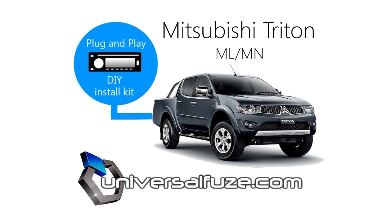 Diy Audio Bluetooth Nav Installation To Mitsubishi Triton Ml Mn Radio Wiring Diagram