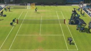 Virtua Tennis 2009 Gameplay (Wii)