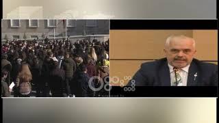 Baixar Ora News - Studentët e Vlorës Ramës: Ministrja e shefit t'vet mesatarja 5.8