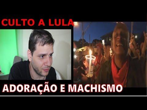 Loucos cultuam Lula e comunista machista discursa.