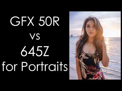 Fujifilm GFX 50R vs Pentax 645Z feat. Guam Model Salina Borja Eseroma