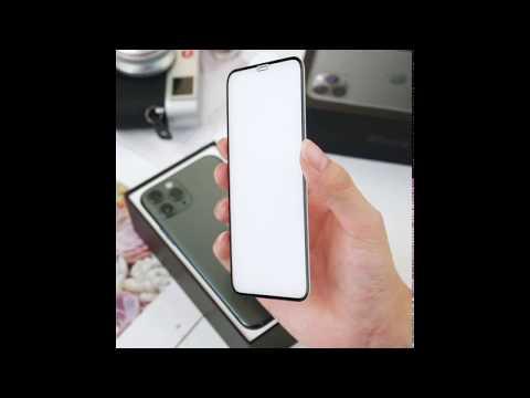 아이폰 11 PRO용 3D 풀커버 강화유리 액정보호필름