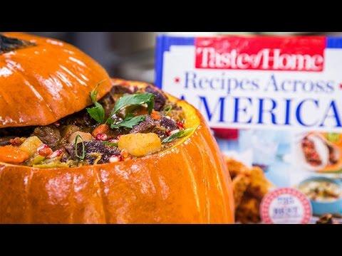 'Taste Of Home' Magazine's Pumpkin Stew Recipe