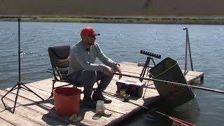 Ловля поплавочной удочкой на пруду. О рыбалке всерьез. Выпуск 371HD