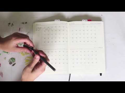 July Bullet Journal Set-up and Project Management for Creatives by Honeyrozes