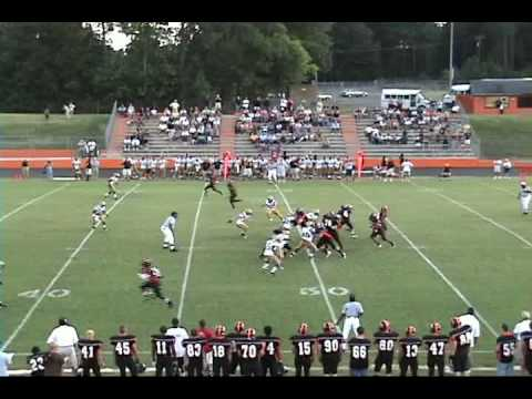 Calvin Bozeman Williams High School Football 2009/2010 Highlights Burlington, NC