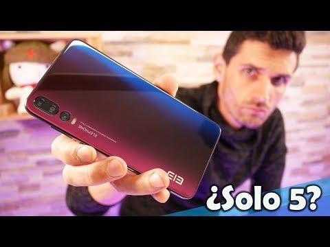 Este móvil chino tiene 5 CÁMARAS y es PRECIOSO, Elephone A5   Unboxing