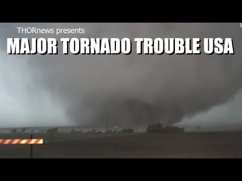 Major Tornado Trouble USA! The storm continues to move East.