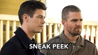 DCTV Elseworlds Crossover  Sneak Peek #3 - Superman and Lois Lane Meet Barry & Oliver (HD)