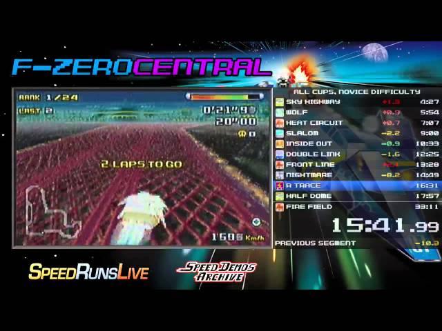 F-ZERO Climax Speedrun in 32:48 (WR)