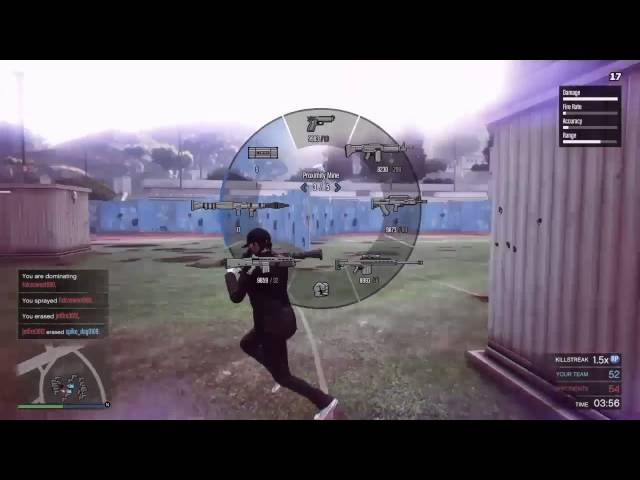 GTA 5 | 2v2 RNG COMBAT MG, RPG AND SHOTGUNS OH MY! (read description)