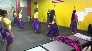 Tahitian Hula With Kumu Ualani Girlie Abad