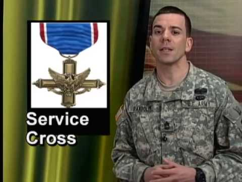 Service Cross to Spc. Orapeza