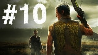 The Walking Dead Survival Instinct Gameplay Walkthrough Part 10 - Crossbow (Video Game)