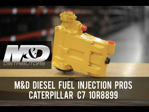 Caterpillar CAT C7 HEUI 10R8899 Pump M D Distributors