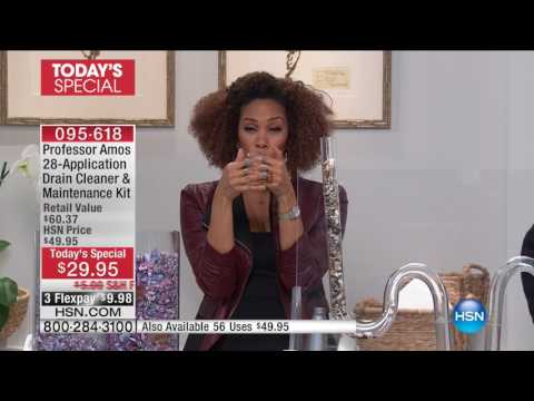 HSN | HSN Today: Cleaning Essentials featuring Professor Amos 02.06.2017 - 08 AM