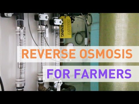 Reverse Osmosis Filters For Hydroponic Growers