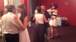 Свадьба Татьяны и Ивана 17 августа 2012 - Танец с папой