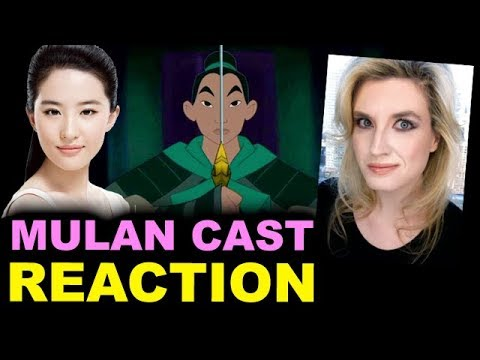 Disney's Live Action Mulan - Liu Yifei aka Crystal Liu Cast - REACTION