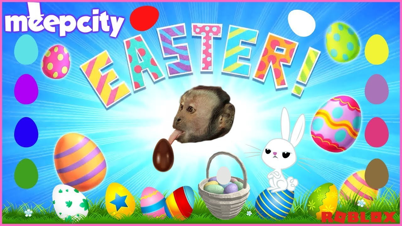 Have A Happy Easter Meep City Egg Hunt 2019 Ggskyla Youtube