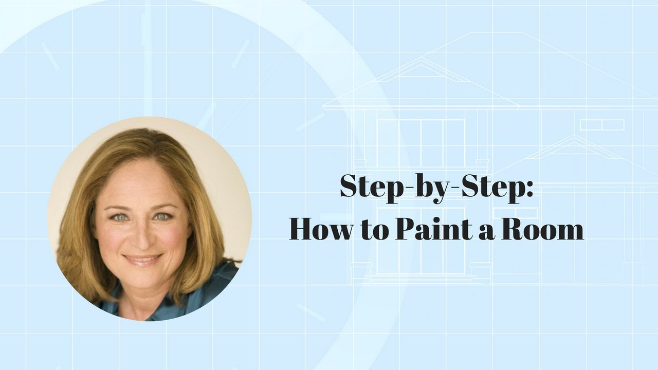 Step by step how to paint a room youtube for How to paint a room