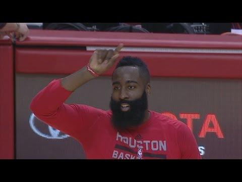 James Harden Scores 23 Points in the 1st Quarter! Philadelphia 76ers vs Houston Rockets