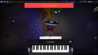 Sweden - Minecraft by: C418 on a ROBLOX piano. [Revamped]