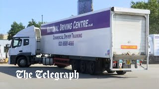 video: Boris Johnson poised to relax visa rules amid lorry driver shortage