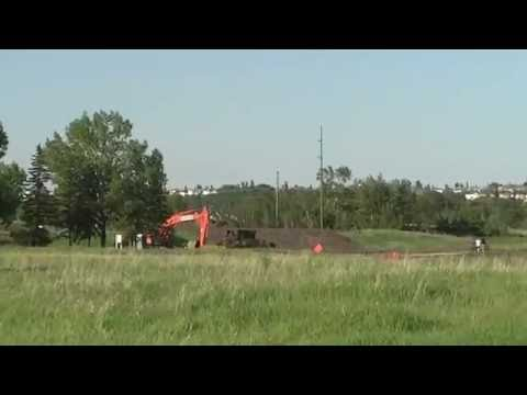 Calgary - Fish Creek Provincial Park (Near Bow Valley Ranch/Native Park/Annie's Restaurant) Video 4