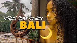 MY TRAVEL NIGHTTIME ROUTINE | Bali Edition