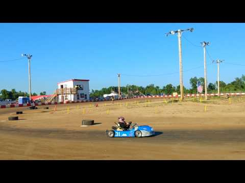 7.29.2017 - KC Raceway - Barrett - Junior 1 - Heat 1