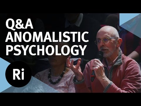 Q&A - An Introduction to Paranormal Psychology - with Chris French