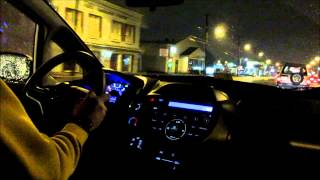 2013 Honda Fit Base Night Test drive and Review