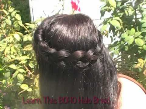 How To Coachella Hair Half Up Wedding Updo Crown Braid