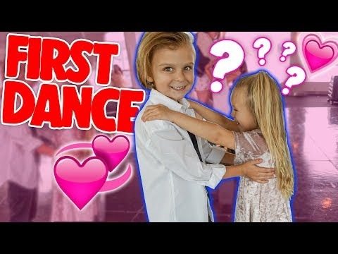 FIRST DANCE With A Childhood CRUSH!? 💕😍  Slyfox Family