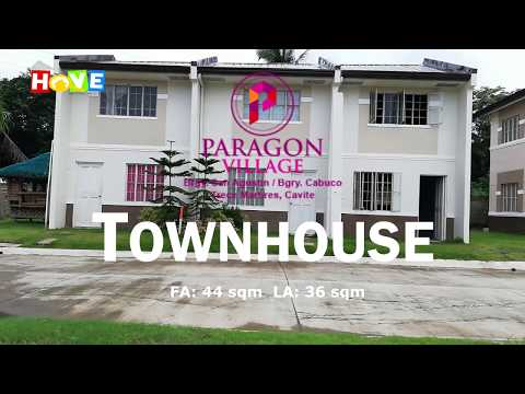 RENT TO OWN House in Trece Martires Cavite Paragon Vilage Townhouse Near SM Trece