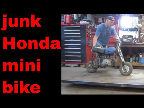 will it run? old  honda 50 monkey bike