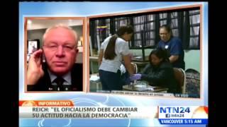 """""""Si Maduro pide que se le respete, también debe respetar"""": Otto Reich"""