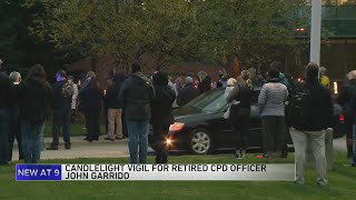 Family holds vigil for former Chicago police officer hospitalized with COVID-19