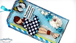 Kartka z Valentiną - Julie Nutting doll (tutorial DIY)